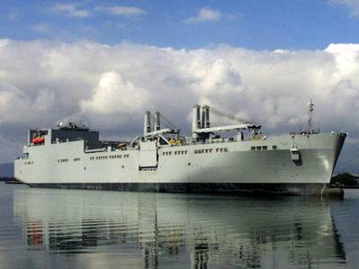 Watson-class RoRo: Photo courtesy of USN