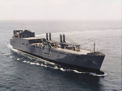 Watson-class RoRo: Photo courtesy of MSC