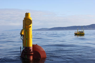 Wave Energy Converter: Photo credit NWEI