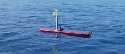 Wave Glider SV3: Photo courtesy of Liquid Robotics