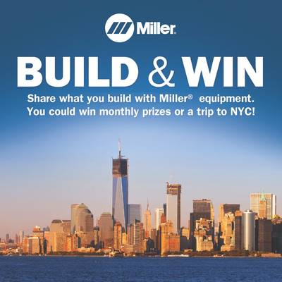 WE BUILD Welding Campaign: Image credit Miller Electric