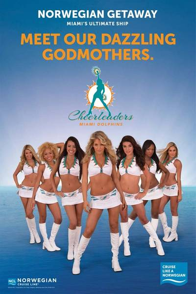 Norwegian Getaway 'Godmothers': Image courtesy of NCL