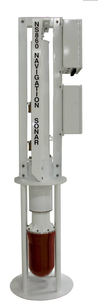 Wesmar NS860 sonar.