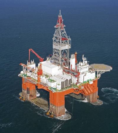 West Aquarius rig: Photo courtesy of Seadrill