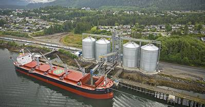 Westview Wood Pellet Terminal (Photo: Port of Prince Rupert)