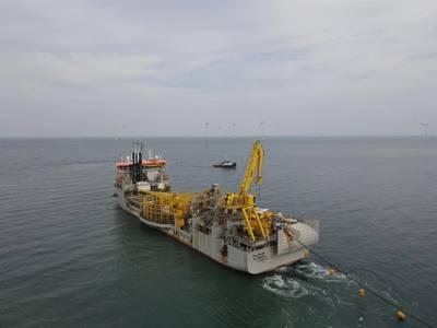 Willem de Vlamingh vessel - Credit: Jan De Nul