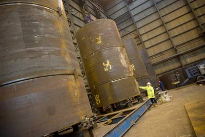 Wilton Engineering will fabricate large caisson clamps for Subsea 7.