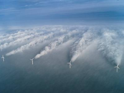 Wind Farm: Image courtesy of NOAA