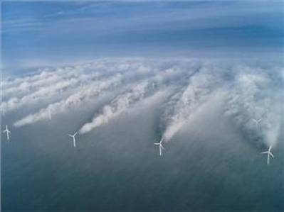 Windfarm Offshore: Photo credit NOAA