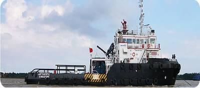 WINS AHTS Vessel: Photo credit PT Wintermar Offshore