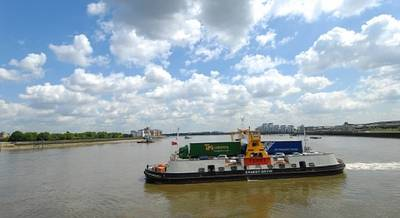 Woolwich Ferry: Photo credit Briggs Marine