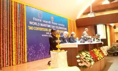 World Maritime Day 2014 Celebrations in Mumbai