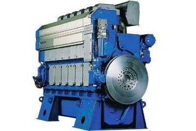 Wärtsilä 32 Marine Diesel Engine: Image courtesy of Wärtsilä