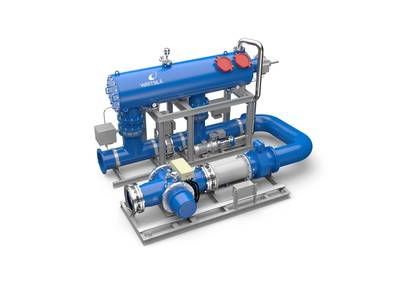Wärtsilä Aquarius UV Ballast Water Management System.