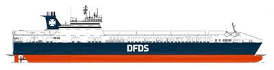 Wärtsilä will provide integrated turnkey electrical solutions for four new RoRo ferries being built at the Flensburger Schiffbau-Gesellschaft (FSG) yard in Germany. Photo Wartsila