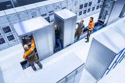 Wärtsilä's test facility (Photo: Wärtsilä) is equipped to carry out full scale testing of the LLH integrated with Wärtsilä distribution system.