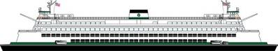 WSF 'Super Class' Ferry: Image credit WSF
