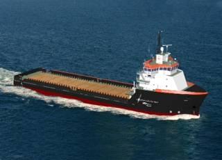302'x64'x26' HOSMAX310 Offshore Support Vessel.