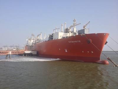 Excelerate FSRU vessel Exquisite Courtesy Excelerate Energy