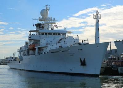 Military Sealift Command's oceanographic survey ship USNS Maury (T-AGS 66) (Photo: Bill Mesta / U.S. Navy)