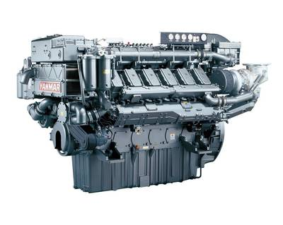 Yanmar 12AY Engine: Photo credit Yanmar Europe