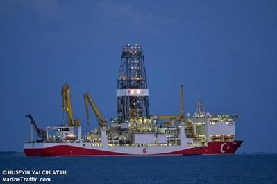 Yavuz drillship - Credit: HUSEYIN YALCIN ATAN/MarineTraffic