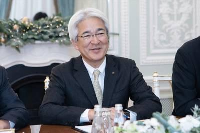 Yoshihisa Suzuki. Photo: Gazprom