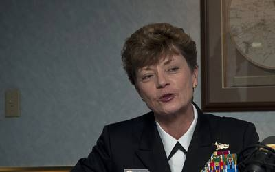 Ann Phillips (File photo: Josh Bennett / U.S. Navy)