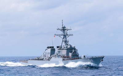 Gibbs & Cox-designed DDG-51 Arleigh Burke-class destroyer at sea (Photo: Gibbs & Cox)