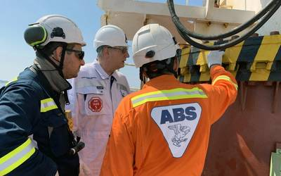 Christopher J. Wiernicki, ABS Chairman, President and CEO.  Photo: ABS