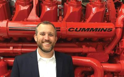 """Cummins plans to be a leader in electrified power and we believe this business segment will provide the innovation and focus to ensure future success"" Eddie Brown, Cummins Marine. Photo: Cummins Marine"