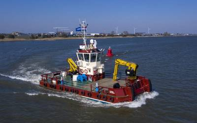 """Damen's """"Swiss army knife"""" Multicats are popular in Europe. Damen has recently contracted for the first of these vessels to be built in the U.S. (Photo: Damen)"""