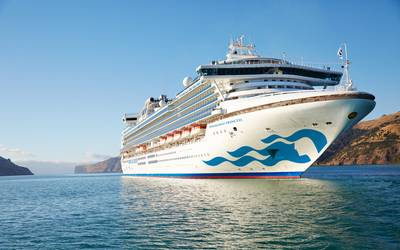 Diamond Princess (File photo: Princess Cruises)