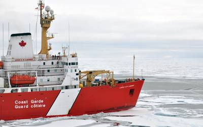 File photo: Canadian Coast Guard Ship Louis S. St-Laurent in the Arctic. (Photo: Patrick Kelley / U.S. Coast Guard)
