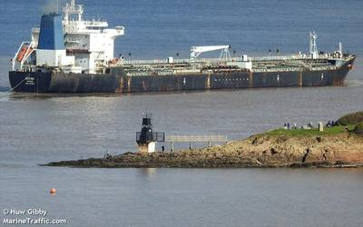 File photo of the tanker Bering (© Huw Gibby / MarineTraffic.com)