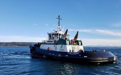 Foss' Leisa Florence ASD-90 tugboat, sister vessel to Rachael Allen (Photo: Foss Maritime)