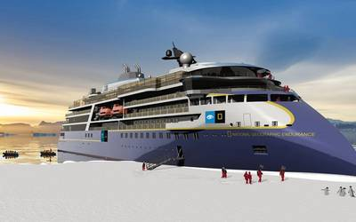 National Geographic Endurance for Lindblad. Source: Ulstein Verft AS