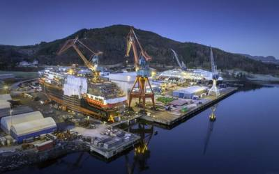 Kleven Verft in Ulsteinvik. Photo by Per Eide - Shared by Kleven Verft