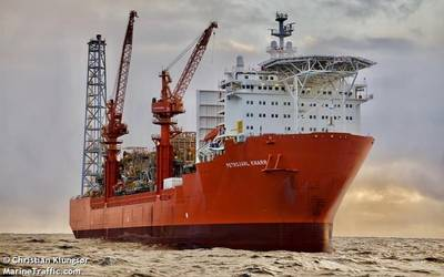 Petrojarl Knarr FPSO - Photo by Christian Klungsør - MarineTraffic