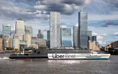 (Photo: Uber Boat by Thames Clippers)