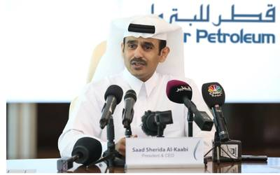 Saad Sherida Al-Kaabi, the Minister of State for Energy Affairs, the President & CEO of Qatar Petroleum. Photo: QP
