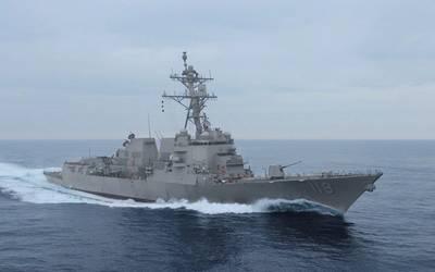 The future USS Delbert D. Black (DDG 119) (Photo: U.S. Navy)