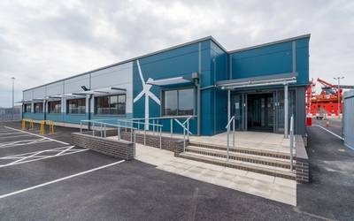 Triton Knoll Ops base will be expanded into a Grimsby Hub - Credit: RWE
