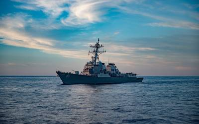USS Winston S. Churchill (DDG 81) (U.S. Navy video by Louis Thompson Staats IV)
