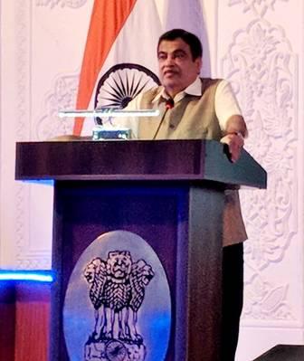 Νιτίν Γκακκάρι, ινδός Υπουργός Ναυτιλίας. Φωτογραφία: PIB