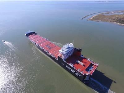 Φωτογραφία ευγενική προσφορά του Crowley Maritime