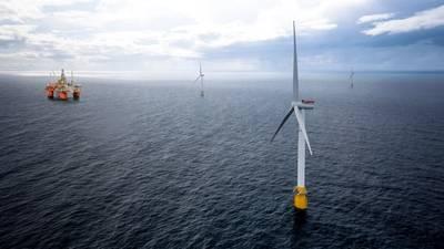 Το έργο Hywind Tampen της Equinor θα χρησιμοποιήσει πλωτές ανεμογεννήτριες για την παροχή ενέργειας στις εγκαταστάσεις παραγωγής πετρελαίου και αερίου Snorre και Gullfaks. (Εικόνα: Equinor)