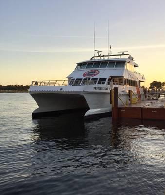 αρχείο Εικόνα: Πλοίο Cross-Bay CREDIT