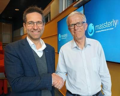 Η αυτόνομη ναυτιλιακή εταιρεία Massterly έχει διορίσει τον Tom Eystø (αριστερά) ως διευθύνοντα σύμβουλο και Per Brinchmann ως πρόεδρος του διοικητικού συμβουλίου της εταιρείας (Photo: Massterly)