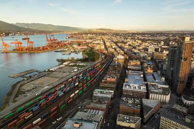 Το λιμάνι του Βανκούβερ / CREDIT: AdobeStock / © Anne
